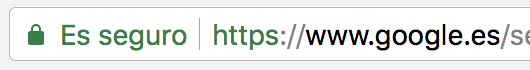HTTPS en Chrome