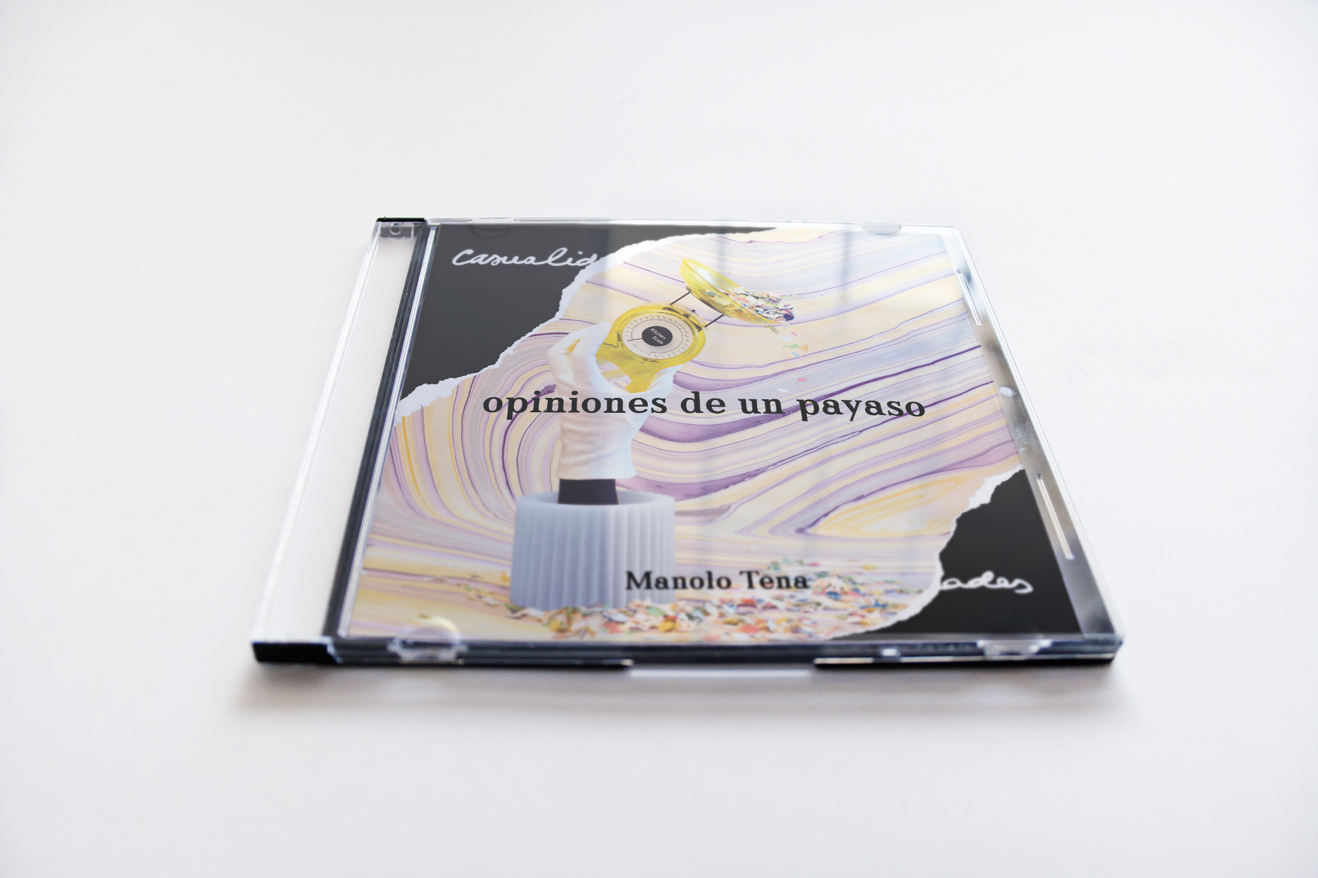 Portada CD Manolo Tena